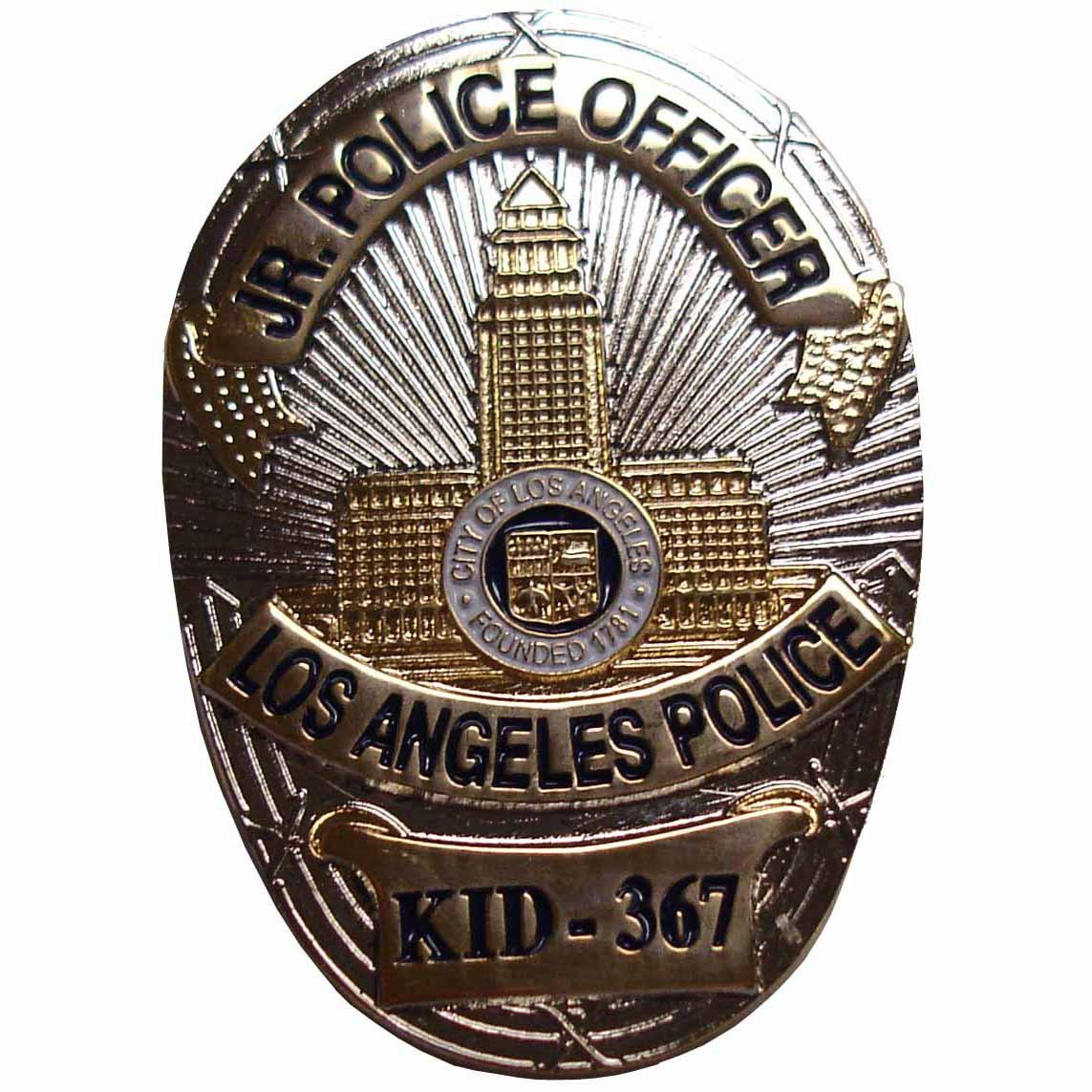lapd badge-#21