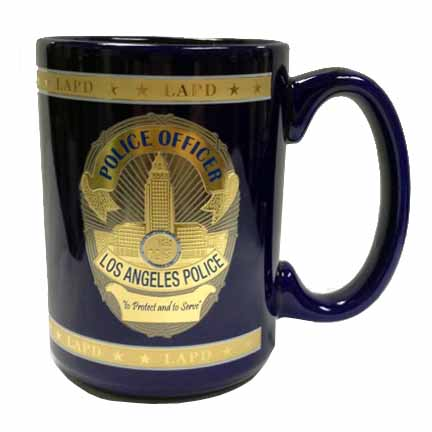 LAPD Coffee Mug LAPARA