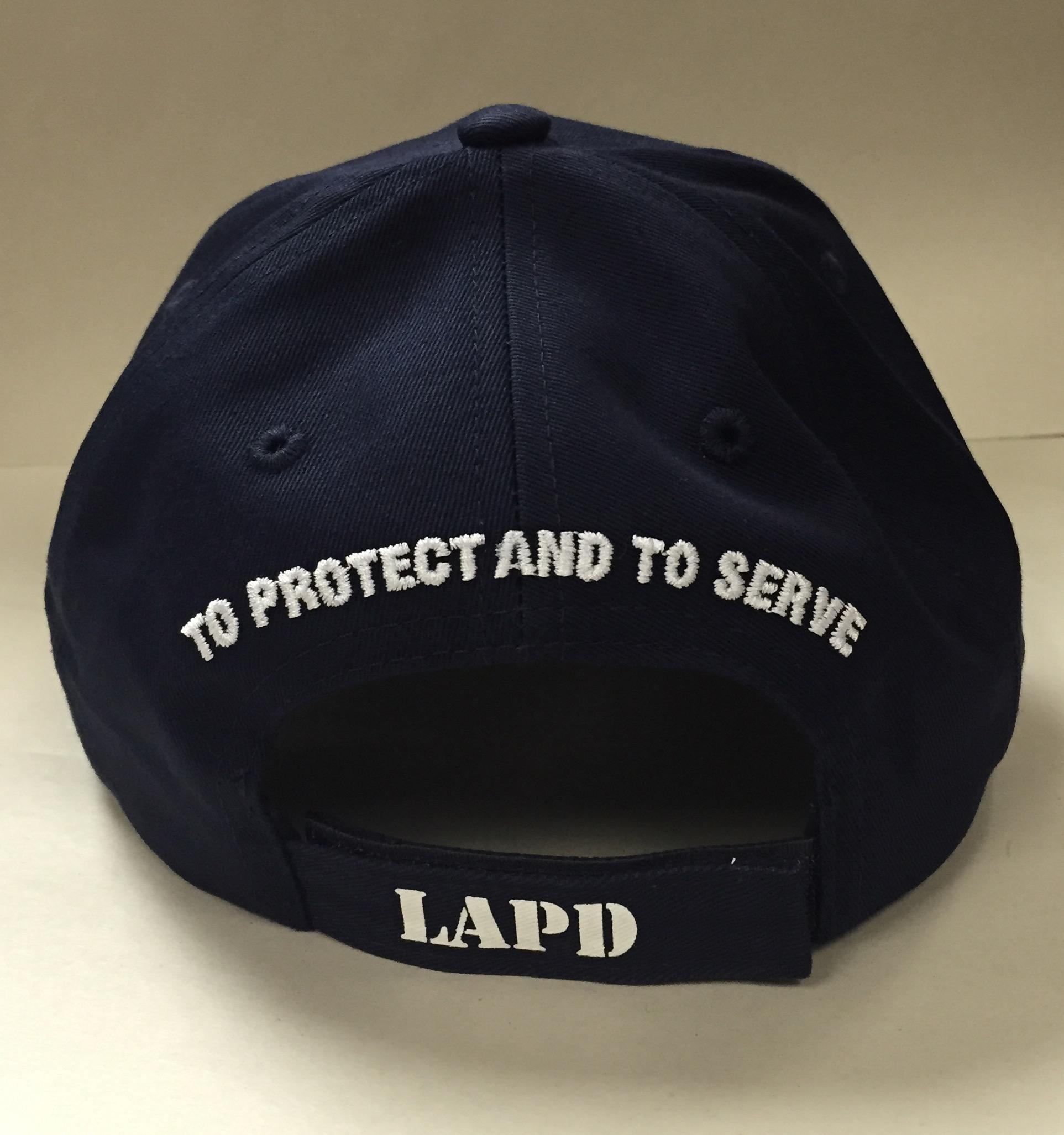 Lapd Hat With Badge Lapara