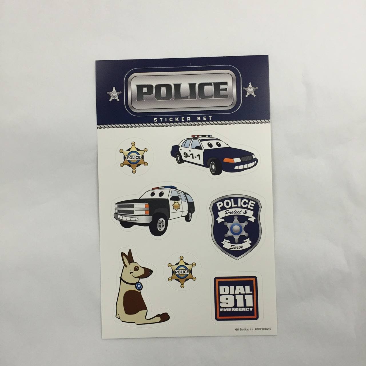 Police Sticker Book